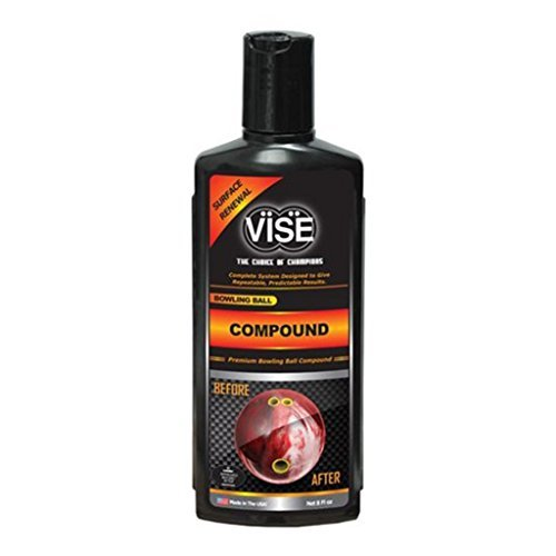 Vise Bowling Ball Compound 5000 Grit 8 ounce