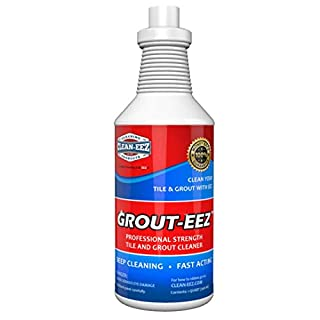 IT JUST WORKS! Grout-Eez Super Heavy-Duty Grout Cleaner. Easy and Safe To Use. Destroys Dirt and Grime With Ease. Even Safe For Colored Grout. Clean-eez