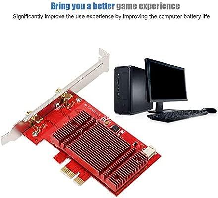 Tarjeta Nic de Escritorio PCI-E Tarjeta de Red de 2400Mbps ...