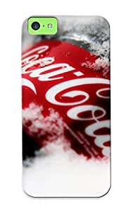 Iphone 5c Case Cover Cocacola Cola Drinks Products Logo Label Text Winter Snow Case - Eco-friendly Packaging