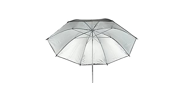 Aexit 40 100cm paraguas de reflector de plata negro para ...