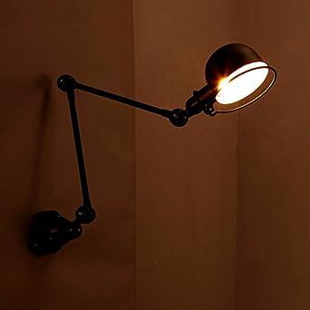 Ggrxa Vintage Style Moderne Lampe Applique Murale Lampe De Chevet