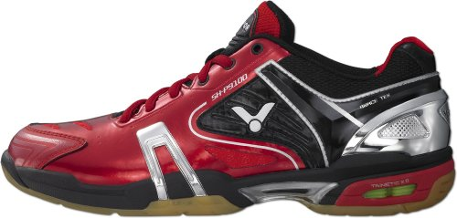Badmintonschuh Red SH Victor Sportschuh Rot Hallenschuh P9100 xCgPqPwH