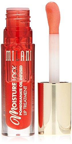 Milani Moisture Lock Oil Infused Lip Treatment, Protecting Pomegranate, 0.10 Ounce