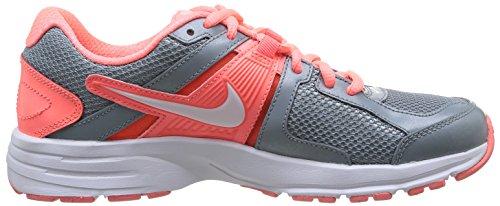 Zapatillas 10 Mujer Para De naranja Running Color Nike Gris Dart Wmns blanco taq747