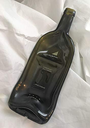 Divided appetizer bowl - Justin Cabernet Wine Bottle