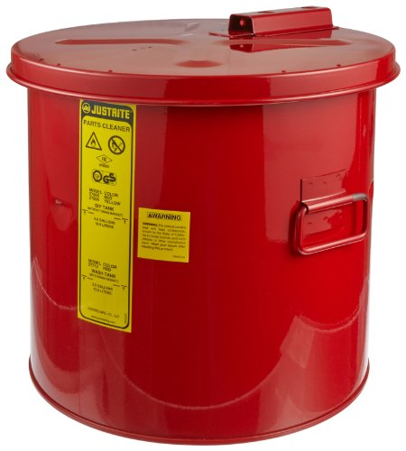 Justrite 27605 5 Gallon Dip Tanks, 14''H x 15''W, 16'' Dia (Pack of 1) by Justrite