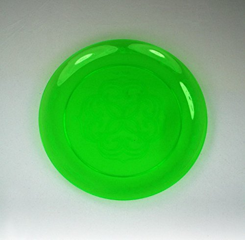 Royal Plasticware, PW2535, 9'' Scroll Plate, Green by Royal Plasticware