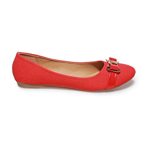 La Modeuse - Danse Rouge Rouge Pour Les Femmes 37 icg6RJuE