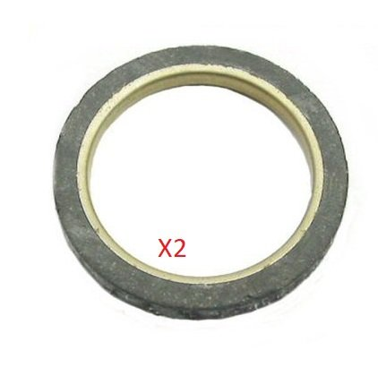 2x Universal Parts 130-44 Exhaust Gasket for the GY6 Engine ZoopBuy