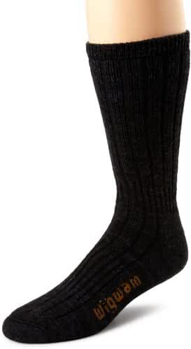 Wigwam Men's Merino/Silk Hiker Heavyweight Crew Socks