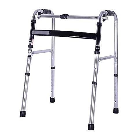 Walker Plegable Andador Caminador Ligero Aluminio Antideslizante ...