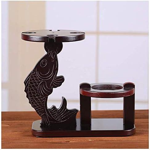 mmmy Rack, Wine racks Desktop European, Solid Wood Creative Display Stand, Storage Shelf Glass Holder Home Decoration Creative Frame