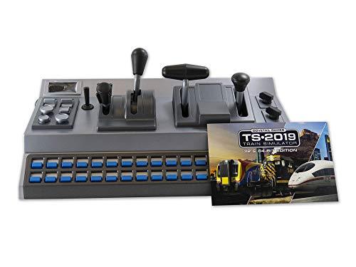 RailDriver USB Desktop Train Cab Controller with Train Sim 2019 (RailDriver, RailDriver + TS2019)