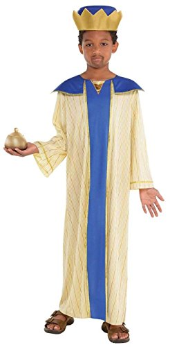 (amscan Boys Melchior Wise Man Costume - Small (4-6),)