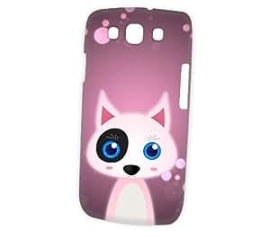 Case Fun Samsung Galaxy S3 (i9300) Case - Vogue Version - 3D Full Wrap - Bull Terrier by DevilleART