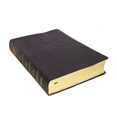 Thompson Chain Reference Bible (Style 514black) - Large Print KJV - Genuine Leather