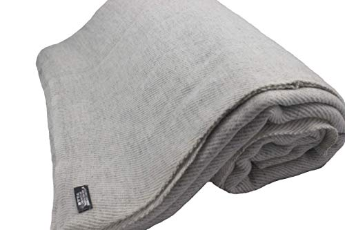 Himalayan Extra Large Cashmere Throw,Natural Cashmere Blanket 90