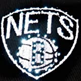NBA Brooklyn Nets LED Light-Up Logo Adjustable Hat