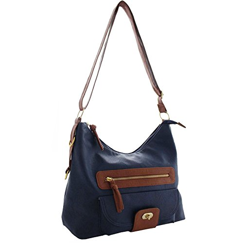 Over Leather Bags Large Navy The Xardi Phone Cross London Shoulder tan Long Bag Teenager Strap Compartment Adjustable Handbags Body Uk Mobile Women Girl For Pocket With Pu fxtwf57
