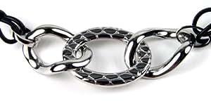 Lotus yle - LS1230-1/1 - Collar de mujer de acero inoxidable, 46 cm