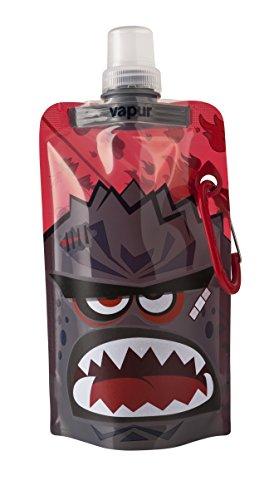 Vapur - Kids Quencher .4L BPA Free Foldable Flexible Water Bottle w/Carabiner (Fuse)