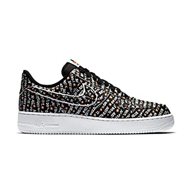 Nike AIR Force 1 '07 LV8 Just DO ITNoir: