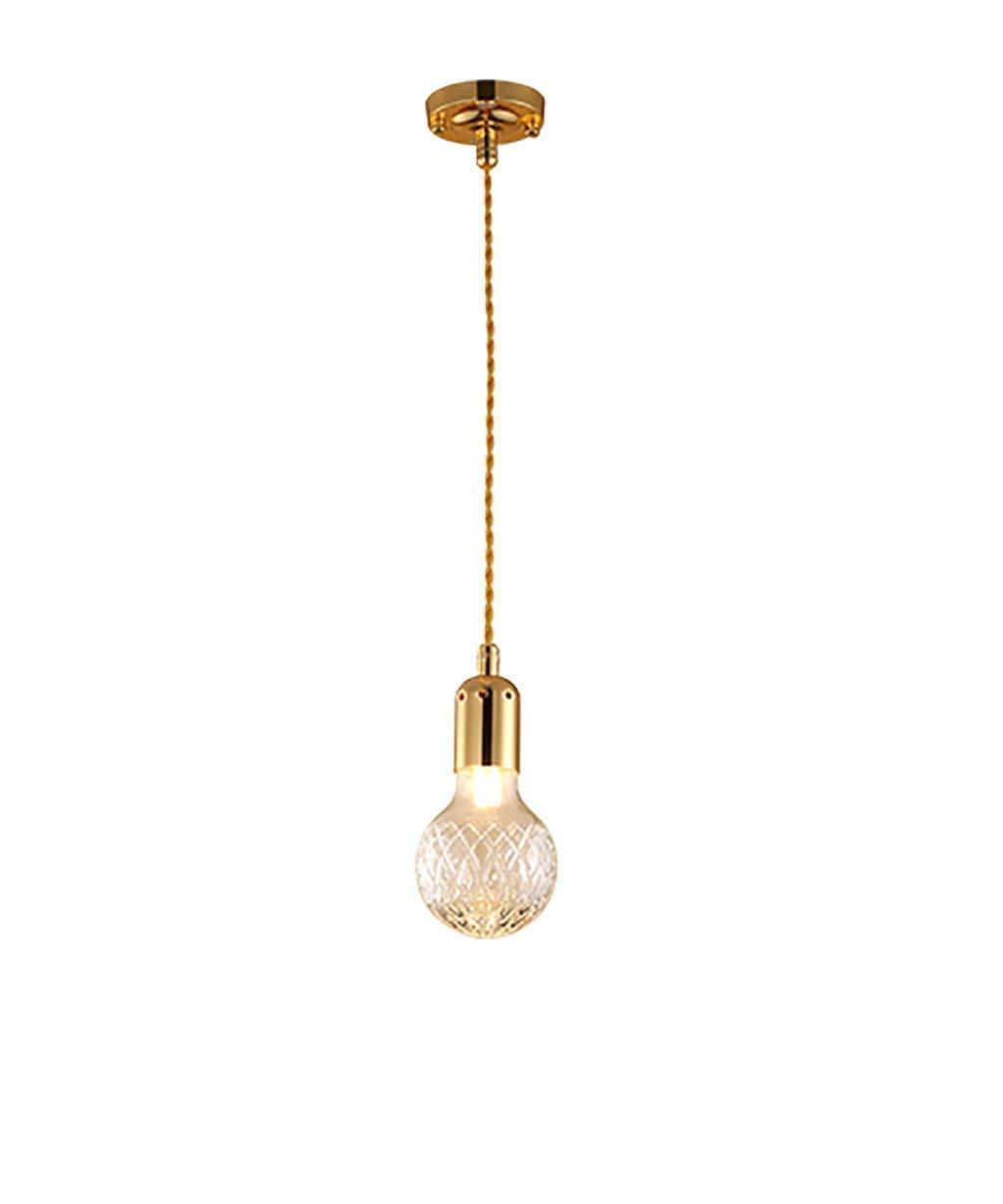 FuweiEncore Postmoderne kreative Kristallkugel des Glases führte Leuchter-einfache Restaurant-Raum-Leuchter-Stange (Farbe   -, Größe   -)