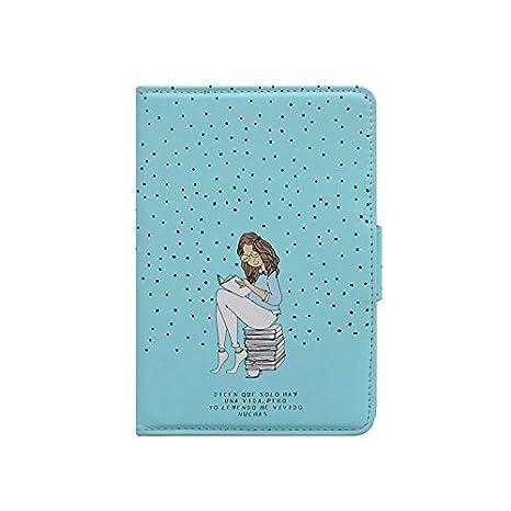 Clarilou Leyendo Cl - Funda para eBook de 6