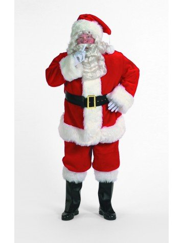 Professional Santa Claus Suit Adult Costume - XXX-Large ()