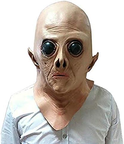 (デマ―クト)De.Markt ハロウィンマスク リアルマスク ホラーマスク エイリアン ラテックス 悪魔 怖い おもしろ仮面