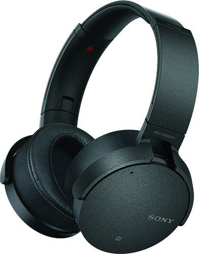 Sony XB950N1 Extra Bass Wireless Noise Canceling Headphones, Black (Sony Mdrxb950bt B Extra Bass Bluetooth Headphones)