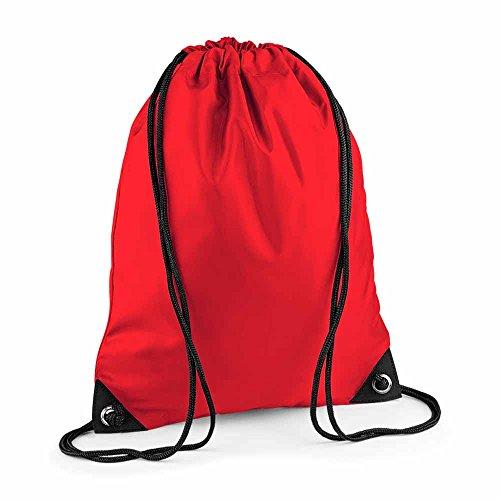 Bag Base–Sacchetto a Bretelle–Gym–Biancheria–Scarpe–bg10–Rosso Bright