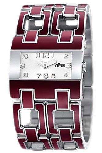 Lotus Ladies Womens Analog Quartz Watch with Stainless Steel Bracelet 15465/6