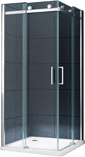 La entrada en curva Cabina de ducha Ducha Prim 80 x 80 x 195 cm ...