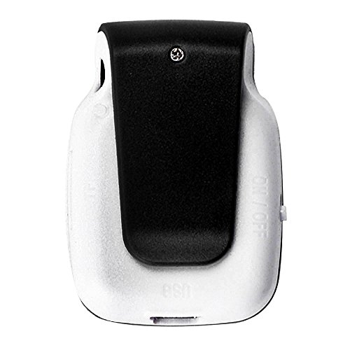 Sannysis Mini Clip USB MP3 Player Micro SD TF Card Music Media (Black)