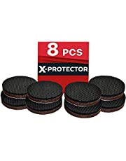Furniture Pads X-PROTECTOR - Non Slip Pads - Premium 8 pcs 50mm - Best Floor Protectors - Rubber Feet for Furniture Feet – Ideal Floor Protector Pads for Keep in Place Furniture. Stop Your Furniture!
