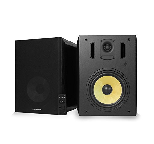 Thonet and Vander Titan Bluetooth - Crystal clear 900 Watt Peak Power Studio Audio Monitors Speakers - German Engineering and Design. Compatible with Alexa