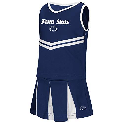 Colosseum NCAA Toddler-Girls Team Cheer Set-Penn State Nittany Lions-5T