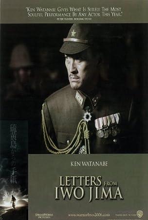 Cartas de Iwo Jima Póster de película Q 11 x 17 - 28 cm x 44 ...