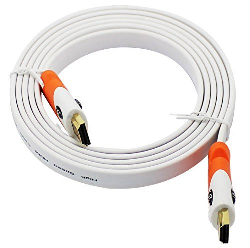 FLAT HDMI Cable Supports Ethernet