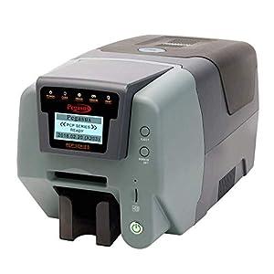 Pegasus PCP P1 Single Side ID Card Printer with Black and White Ribbon