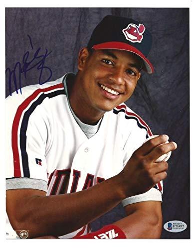 Manny Ramirez 1995 Autographed Signed/Autograph Cleveland Indians 8x10 Photo Beckett Authentic Memorabilia