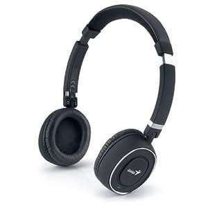 Genius HS-980BT - Auriculares de diadema abiertos Bluetooth, negro