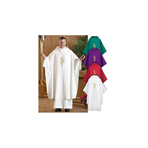 Spirit Hope Monastic Chasuble  Green