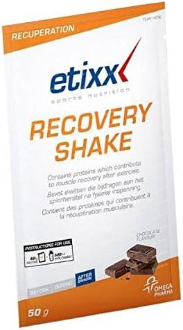 Etixx Recovery Shake Chocolate SRP Batido de Recuperación - 12 Unidades