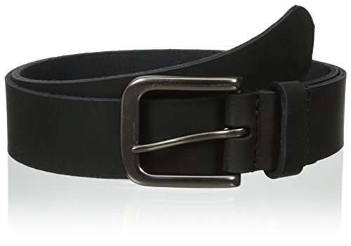 Timberland Men's 35Mm Classic Jean Belt, black silvery, 36