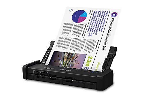 Epson WorkForce ES-200 Color Portable Document Scanner with ADF for PC and Mac, Sheet-fed and Duplex Scanning (Certified Refurbished)