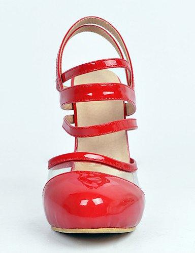 aguja punta zapatos de de tacón us10 YHUJI de eu42 GGX patente de cuero red cn35 las fiesta la uk3 5 tacón eu36 5 us5 red boda amp; de uk8 eu42 5 cn43 de nbsp;noche de 5 5 redonda zapatos de mujeres tacón red cn43 5 us10 uk8 de 1n1HvYxq