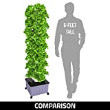 SuiteMade 45-Plant Vertical Hydroponic Tower System